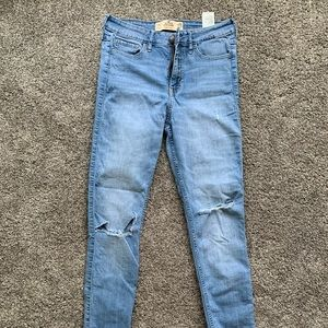 Hollister high rise skinny jeans